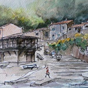 Soirée d'automne au Port de Valldemosa