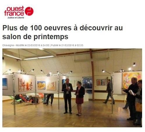 24e Salon de Printemps de Chavagne