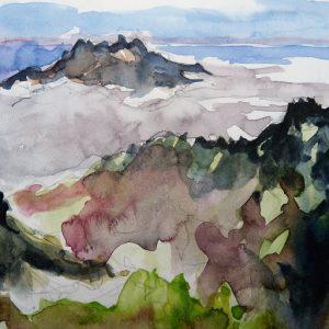 La Palma, Parc National de la Caldera de Taburiente : la Cumbre Vieja et le Pico Bejenado