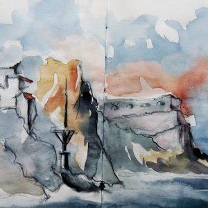 La Gomera, playa de Vallehermoso : le Pescante