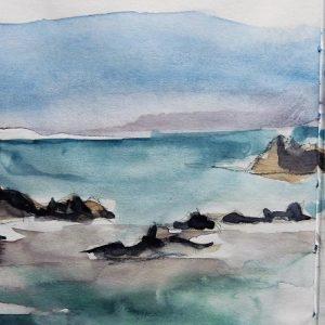 La Gomera, les rochers de la playa de la Alojera