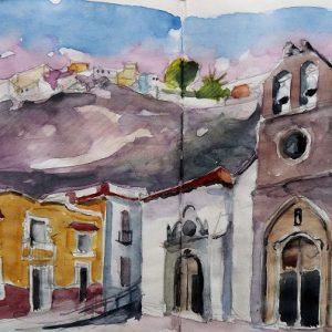 La Gomera, San Sebastian : l'église Nuestra Señora de la Asención