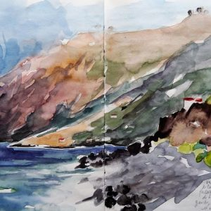 El Hierro : Valle de la playas