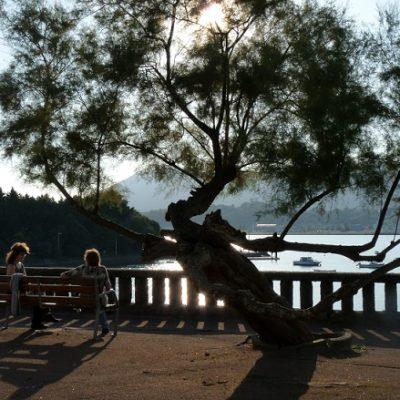 Entre Hendaye et Hondarribia : terrasse sur la Bidassoa