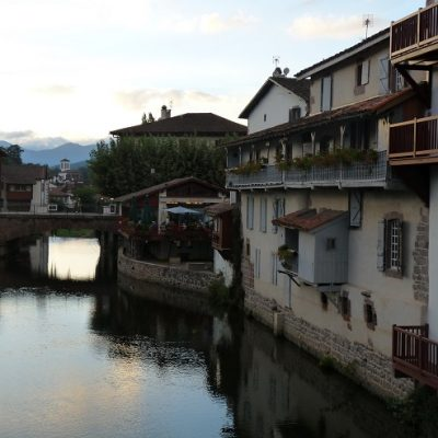 St-Jean-Pied-de-Port, les bords de la Nive