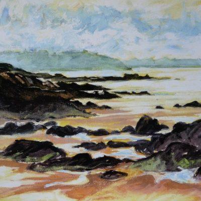 Pointe du Nick, aquarelle