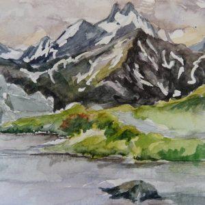 Alpages du Ricou et Lac Laramon