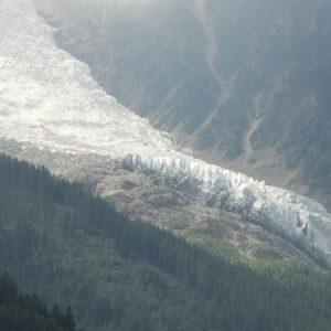 Chamonix - Mont-Blanc, le glacier des Bossons