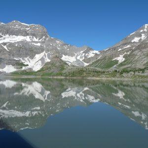 Lac de Salanfe et Col de Susanfe