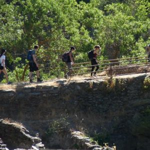 La Alpujarra, La Taha : le pont romain de Ferreirola