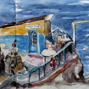 Las Palmas, La Isleta : cabane de pêcheur