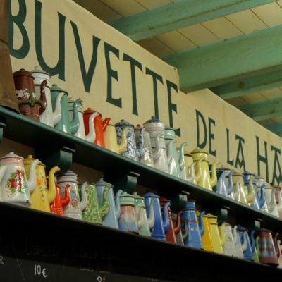St-Jean-de-Luz, la buvette des halles