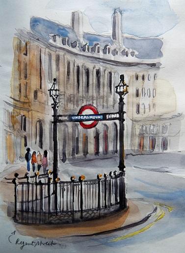 Londres, Regent street